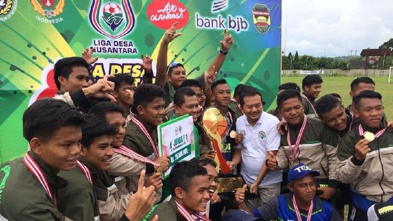 Desa Sukarame Tasikmalaya Juara Liga Desa 2017