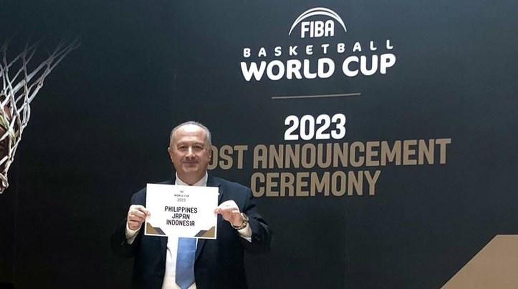 Indonesia Tuan Rumah Piala Dunia Basket 2023