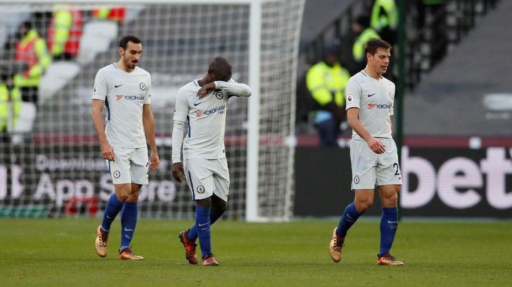 Chelsea Tertunduk Lesu