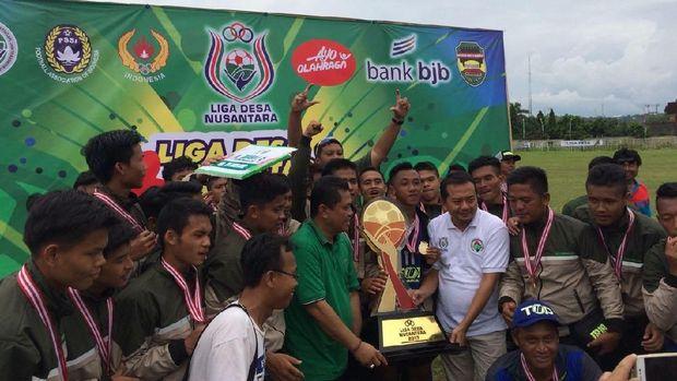 Sukarame Tasikmalaya Juara Liga Desa 2017