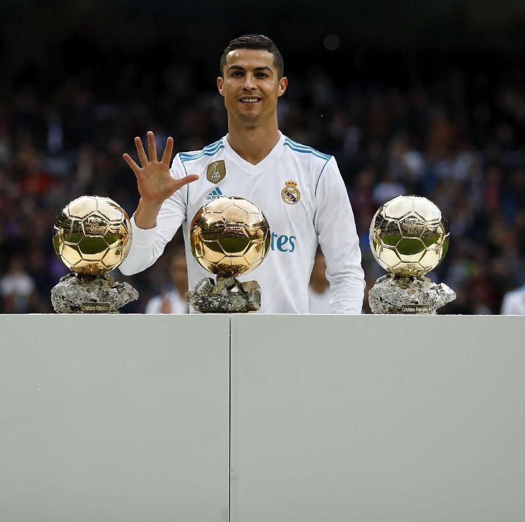 Kenapa Ronaldo Tak Masuk 10 Besar Striker Terbaik Musim 2017/2018?