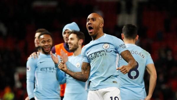 Berjaya di Old Trafford, City Catat Rekor Kemenangan Terpanjang