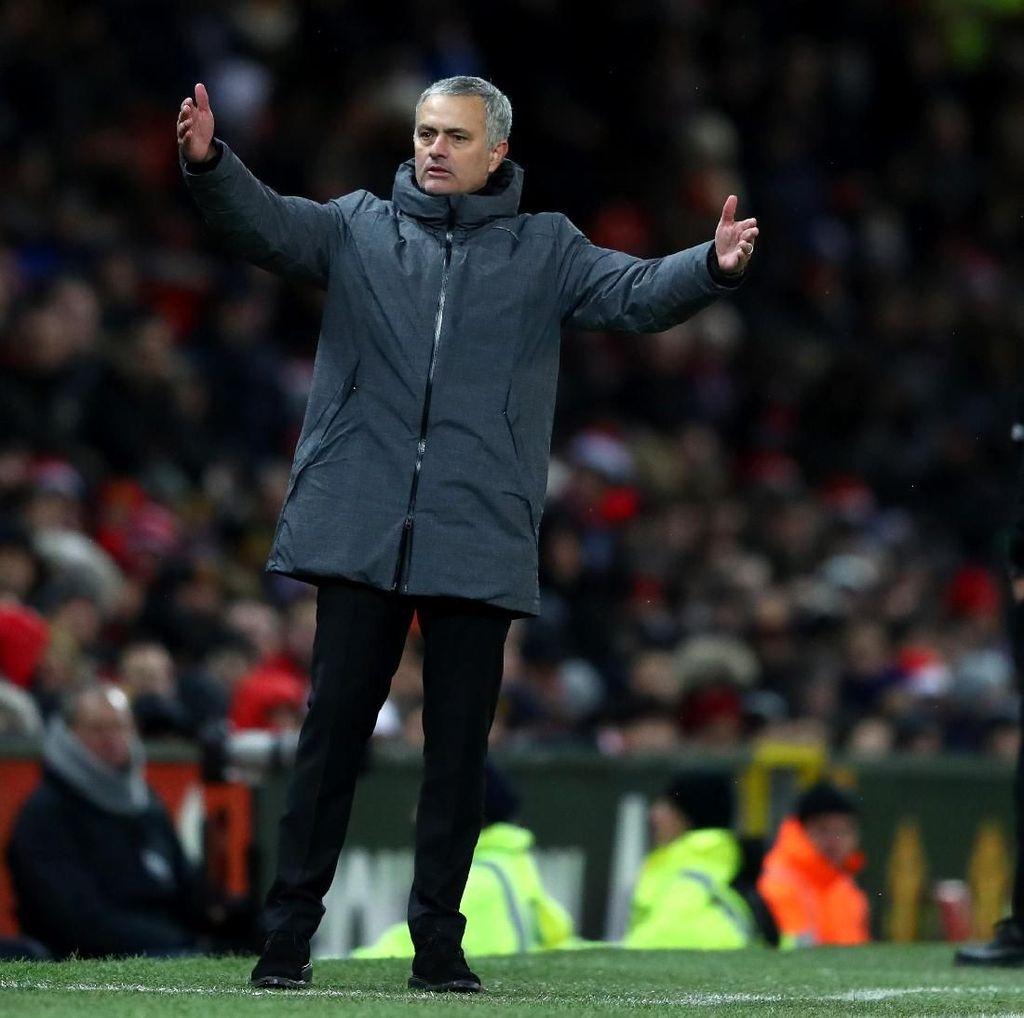 FA Minta Penjelasan Mourinho Terkait Komentar Jelang Derby Manchester