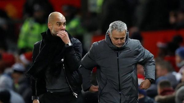 Guardiola Heran Mourinho Selalu Mengeluhkan Wasit