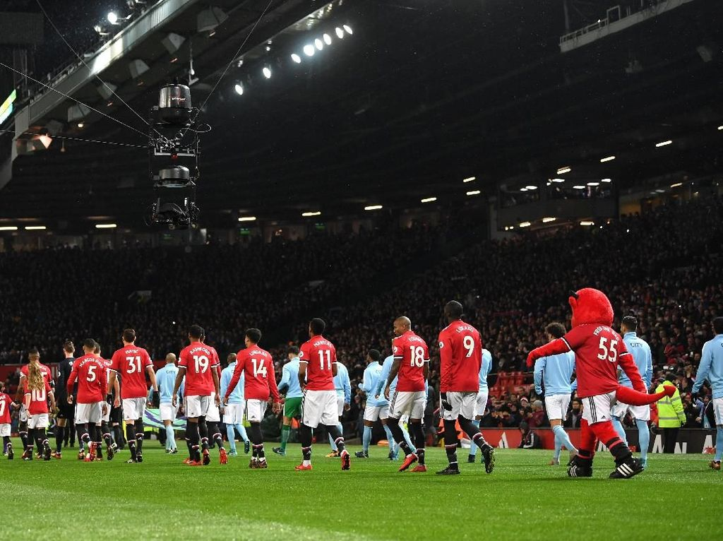 Kombinasi Starting XI Derby Manchester, MU Cuma Dua Pemain