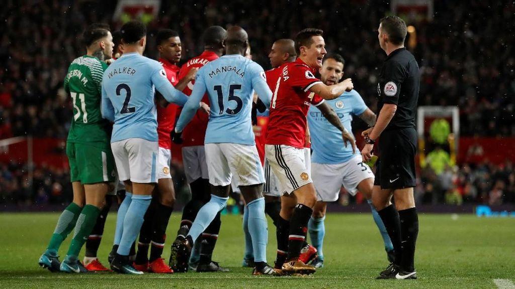 Ribut-ribut Derby Manchester Tak Sampai Libatkan Polisi