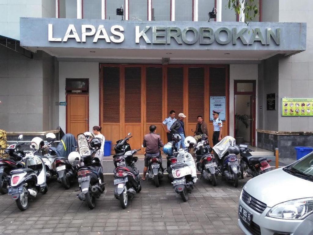 Napi yang Ditangkap Sedang Kerja Bakti di Area Rumdin Kalapas Bali