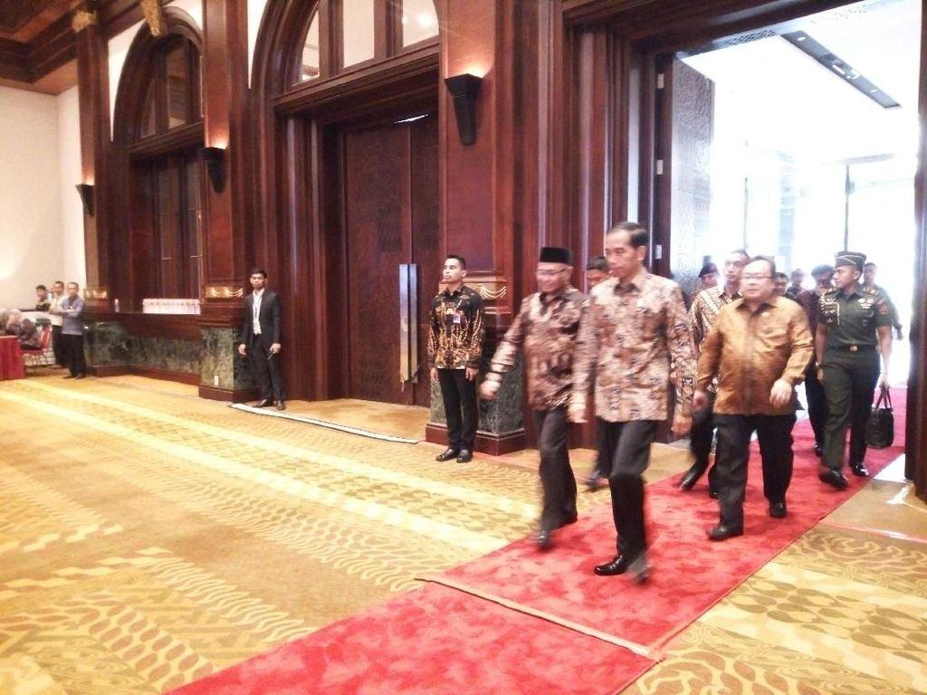 Jokowi Hadiri Peringatan Hari Antikorupsi Sedunia