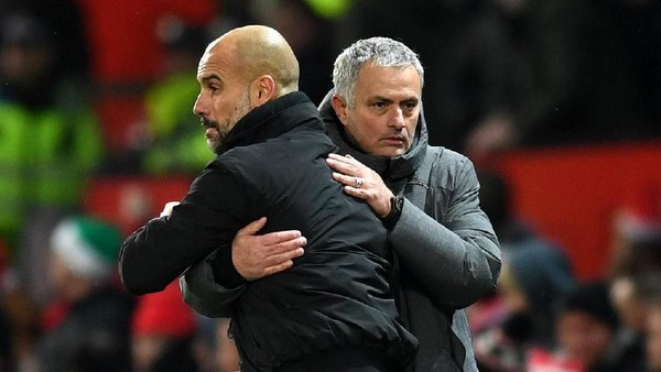 Guardiola Masih Jadi Kryptonite-nya Mourinho