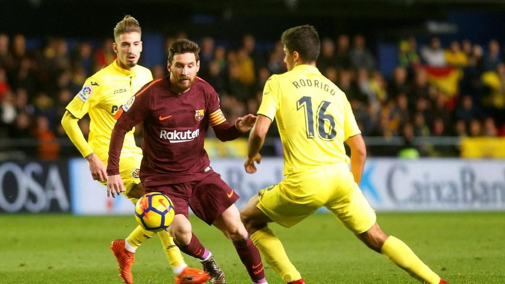 Barcelona Kalahkan Sepuluh Pemain Villarreal 2-0