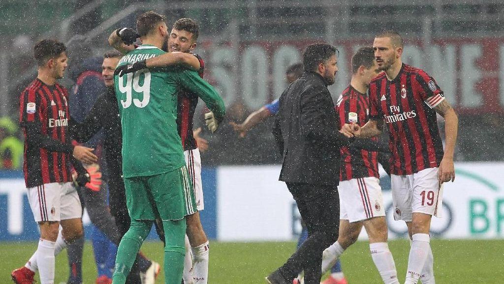 Milan Akhiri Puasa Gol dan Kemenangan Kandang di Serie A