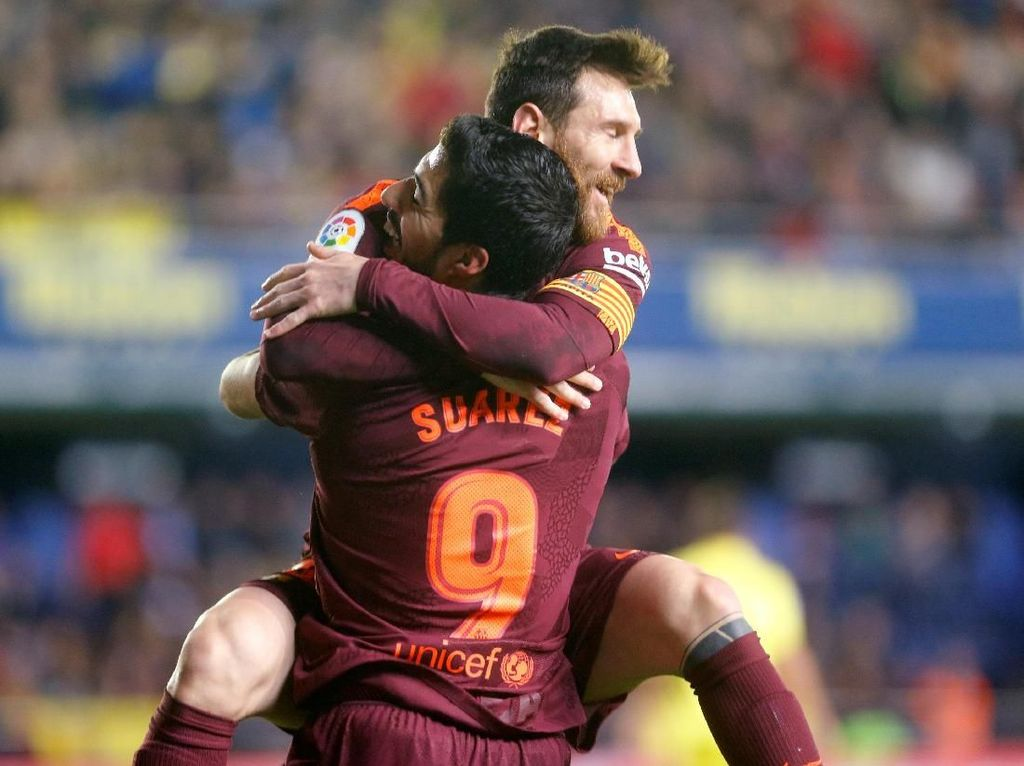 Atletico Madrid Andalkan Griezmann, Barca Punya Messi dan Suarez