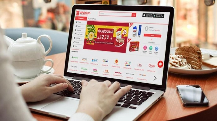Tiga e-commerce yang beroperasi di Tanah Air, Blibli.com, Shopee, dan Lazada memuncaki daftar pencarian Google di harbolnas ini. Foto: istimewa