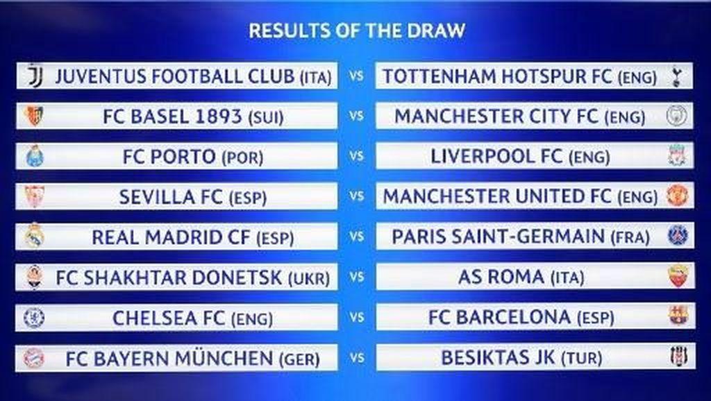 Madrid vs PSG, Laga seperti Final di Babak 16 Besar