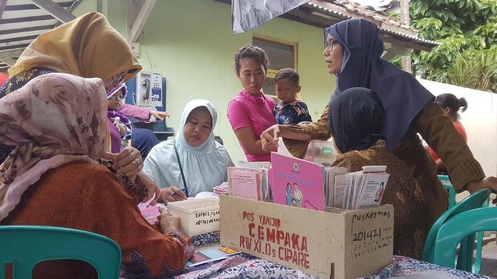 Potret Imunisasi Difteri Serentak di Jakarta, Jabar, dan Banten