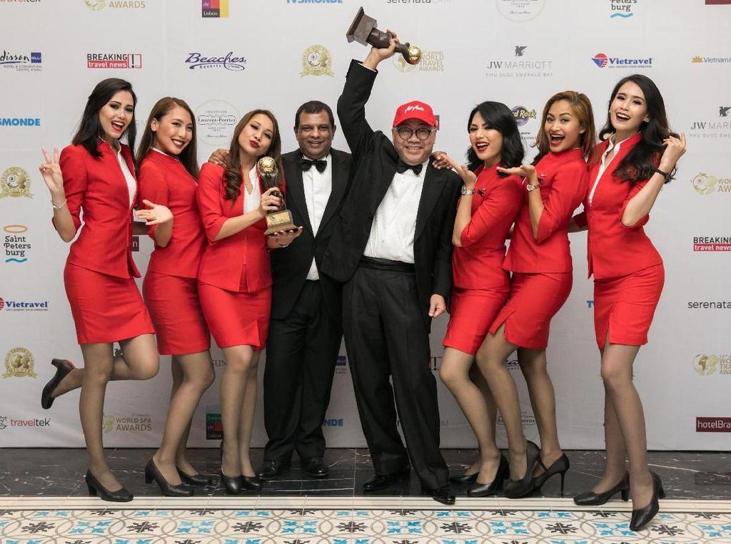 Selamat! AirAsia Raih 2 Penghargaan di World Travel Awards 2017