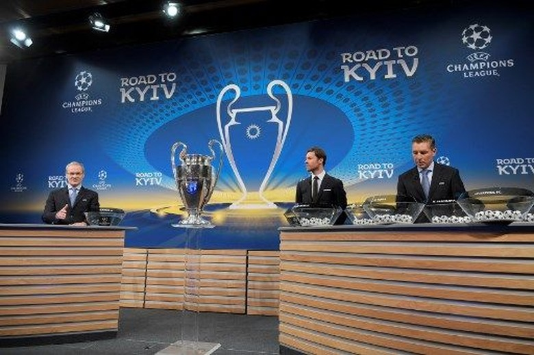 Foto: Drawing Liga Champions Babak 16 Besar