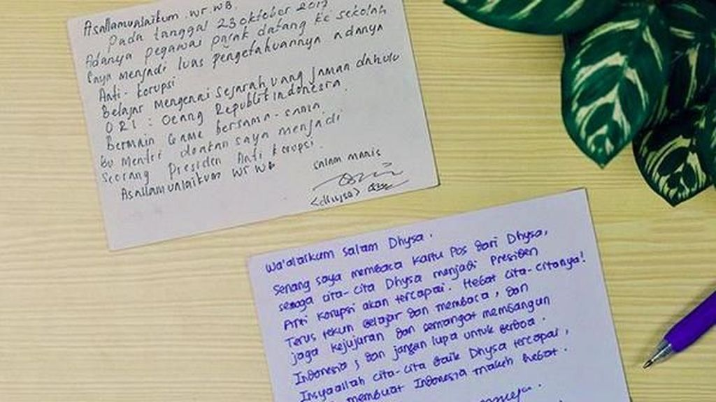 Lucu, Balas-balasan Surat Sri Mulyani dan Siswa SD