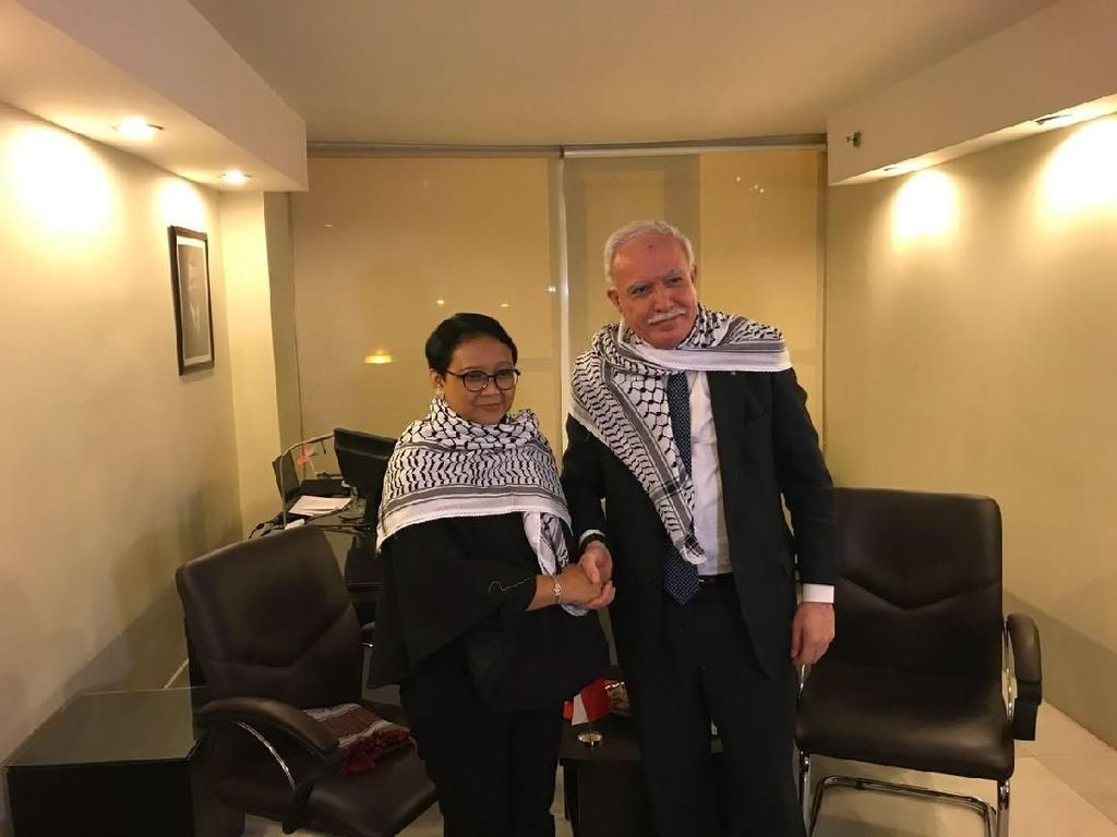 Palestina Berterima Kasih ke Indonesia yang Selalu Ada untuk Mereka