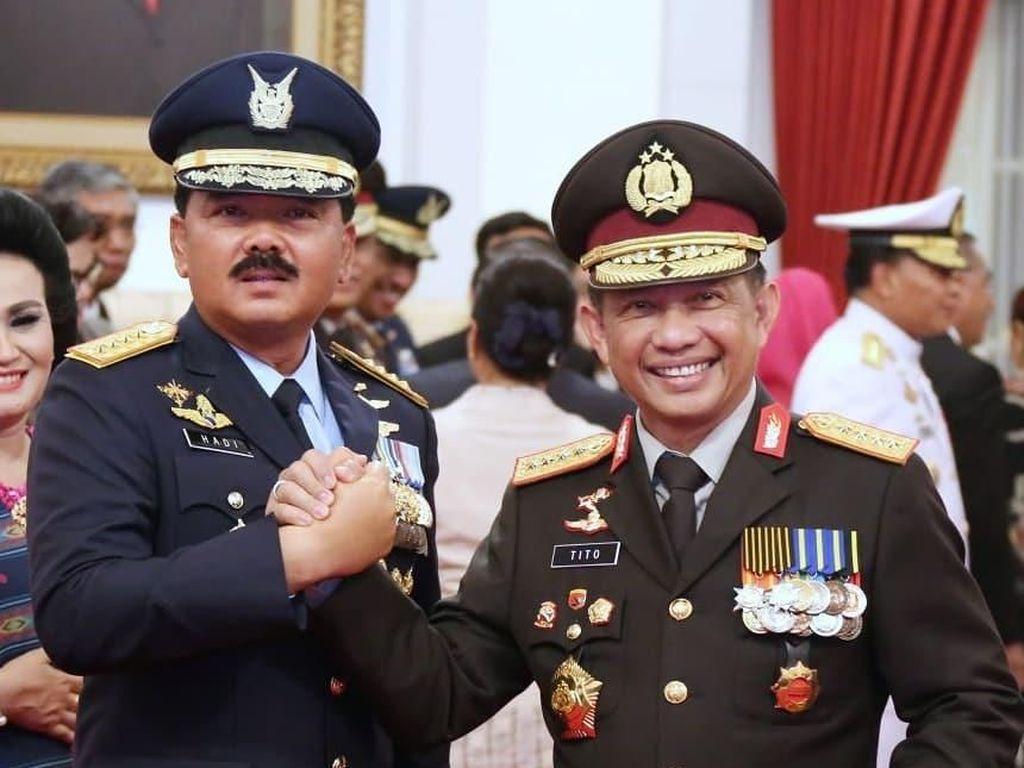 Kapolri dan Panglima TNI akan Berkantor Sepekan di Papua