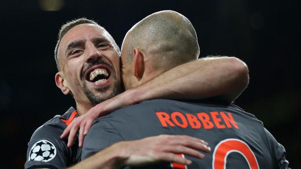 Bayern Rencanakan Pembicaraan Serius dengan Robben dan Ribery