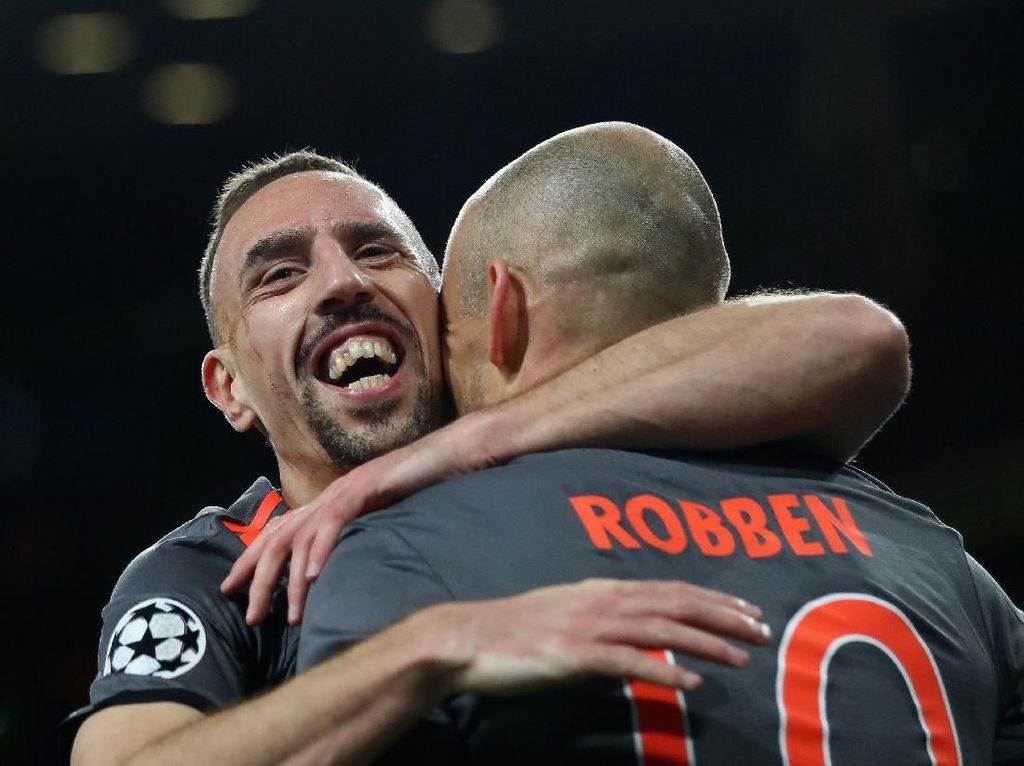 Ikuti Jejak Robben, Ribery Resmi Tinggalkan Bayern