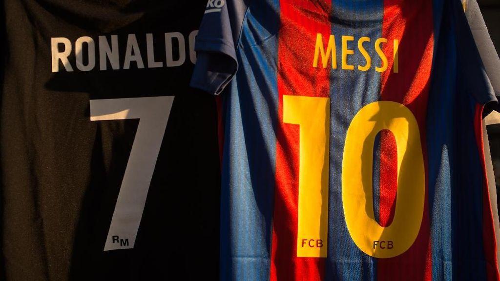 Soal Gol di Babak 16 Besar, Messi Masih Ungguli Ronaldo