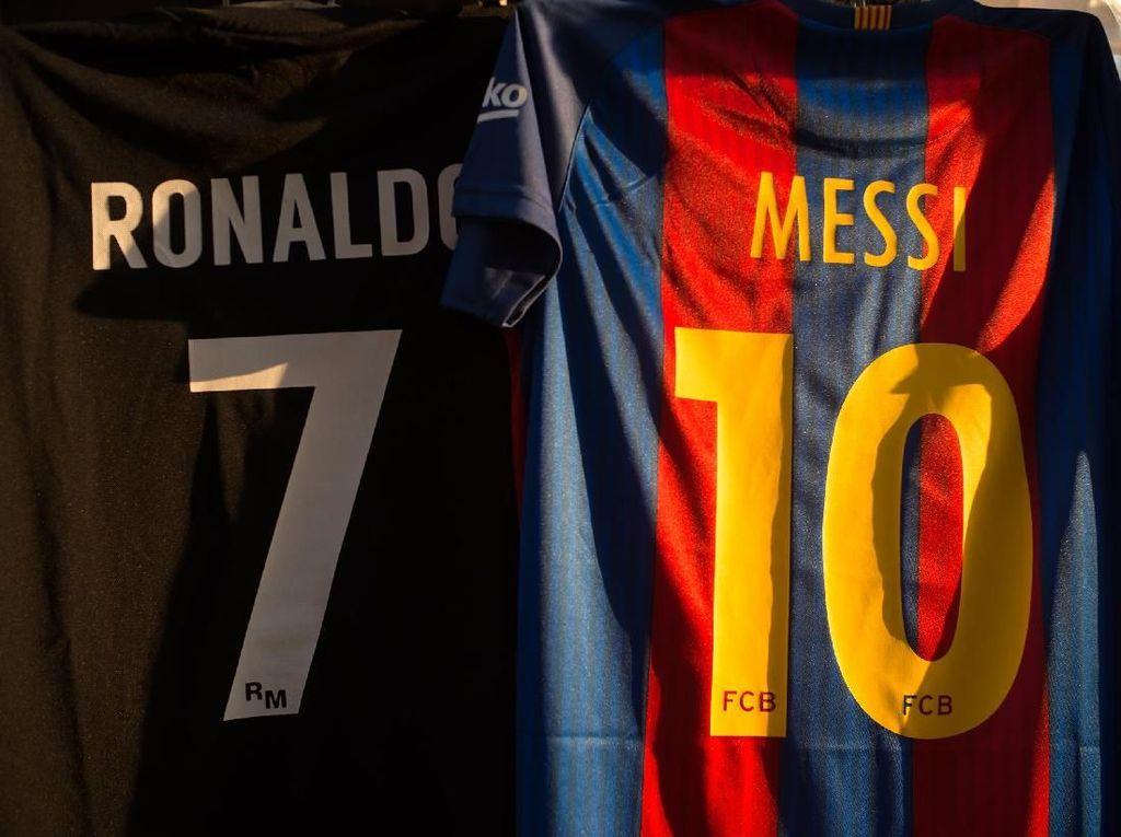 Rooney: Ronaldo Kejam, tapi Messi Lebih Menyiksa
