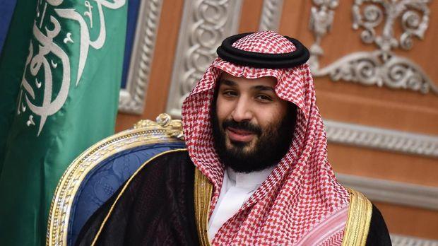 Putra Mahkota Mohamed Bin Salman. (