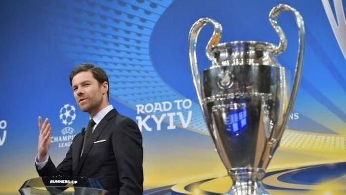 Xabi Alonso belum mau melatih Bayern Munich (Fabrice COFFRINI/AFP PHOTO)