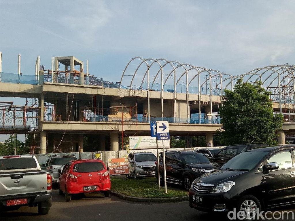 Proyek Skybridge Bandara Palembang Dikebut, Ini Progresnya