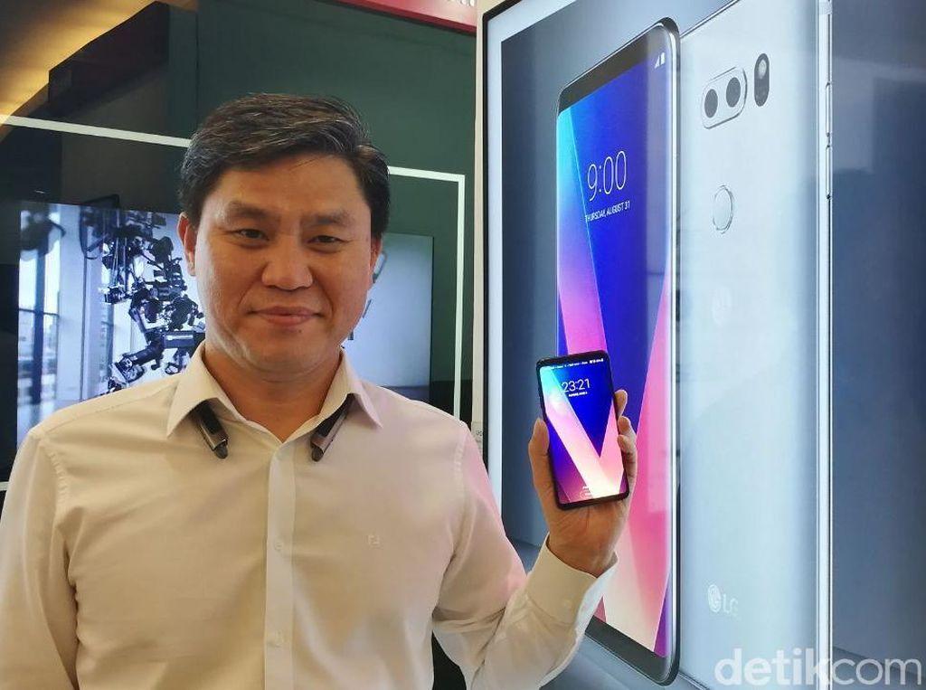 Kencan Singkat dengan Ponsel Termahal LG