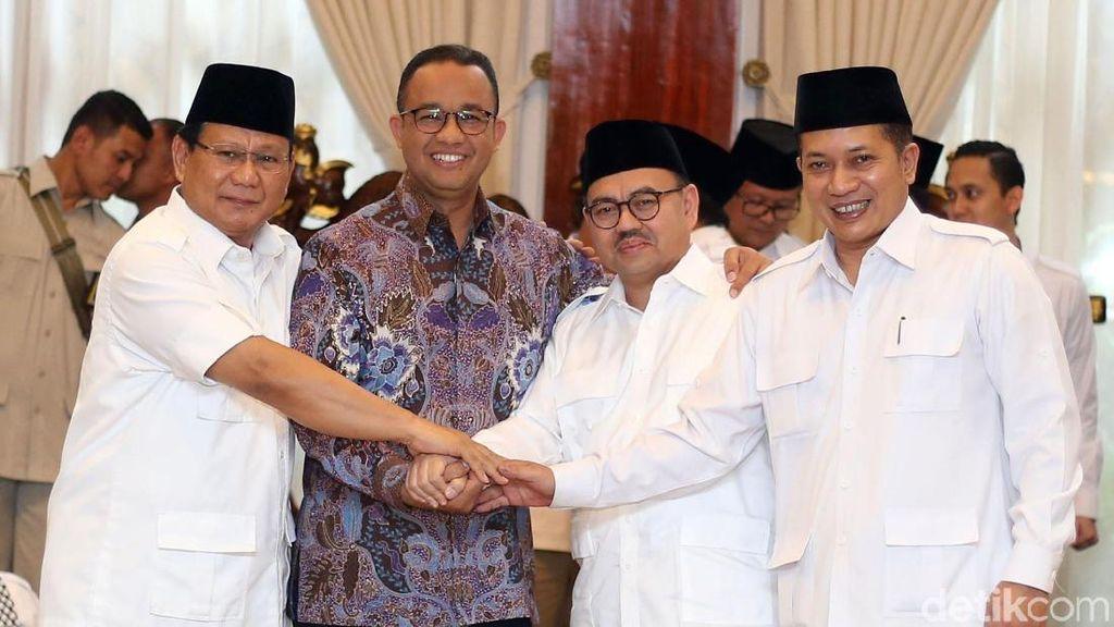 Prabowo Deklarasikan Sudirman Said Jadi Cagub Jawa Tengah
