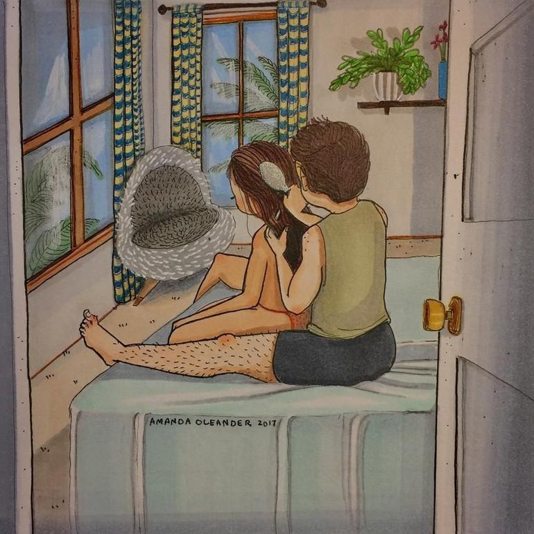 103 Gambar Kartun Mesra Romantis HD Terbaik