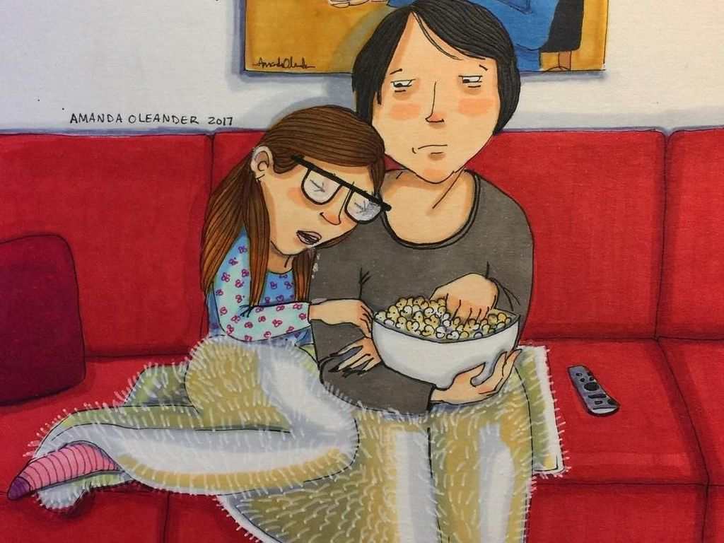 Foto: Ilustrasi Romantis Pasangan Suami Istri yang Bikin Kamu Baper