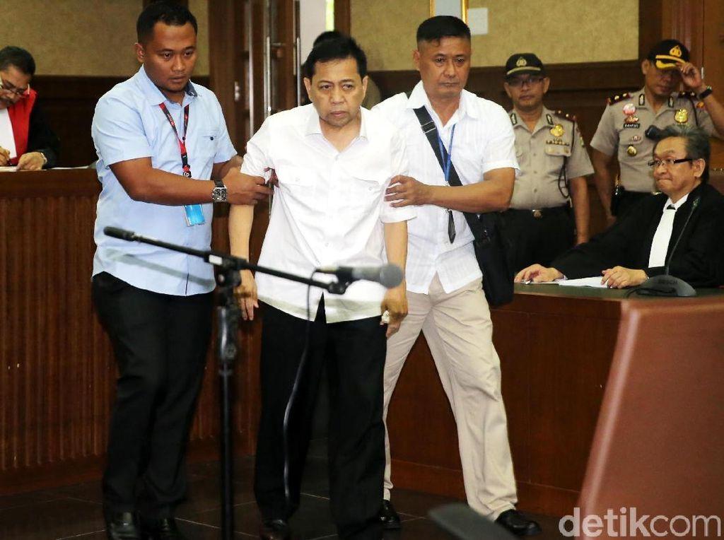 Novanto Ngaku Diare, KPK: Kesehatan Sudah Dicek Sebelum Berangkat