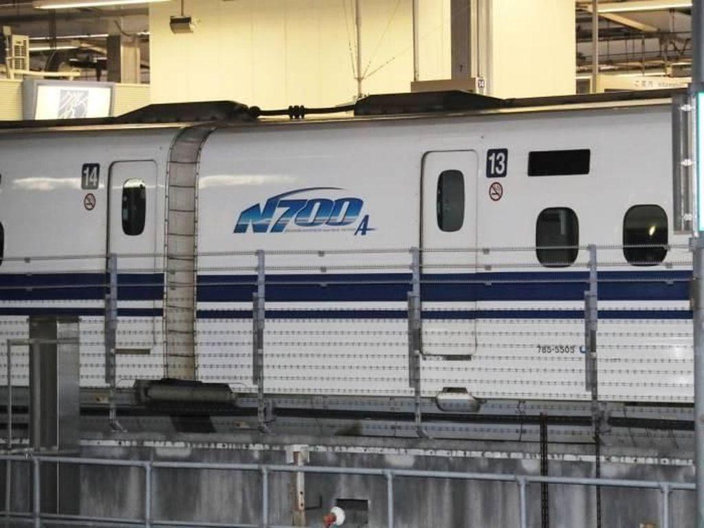 Foto: Gawat! Ada Retakan di Shinkansen Jepang