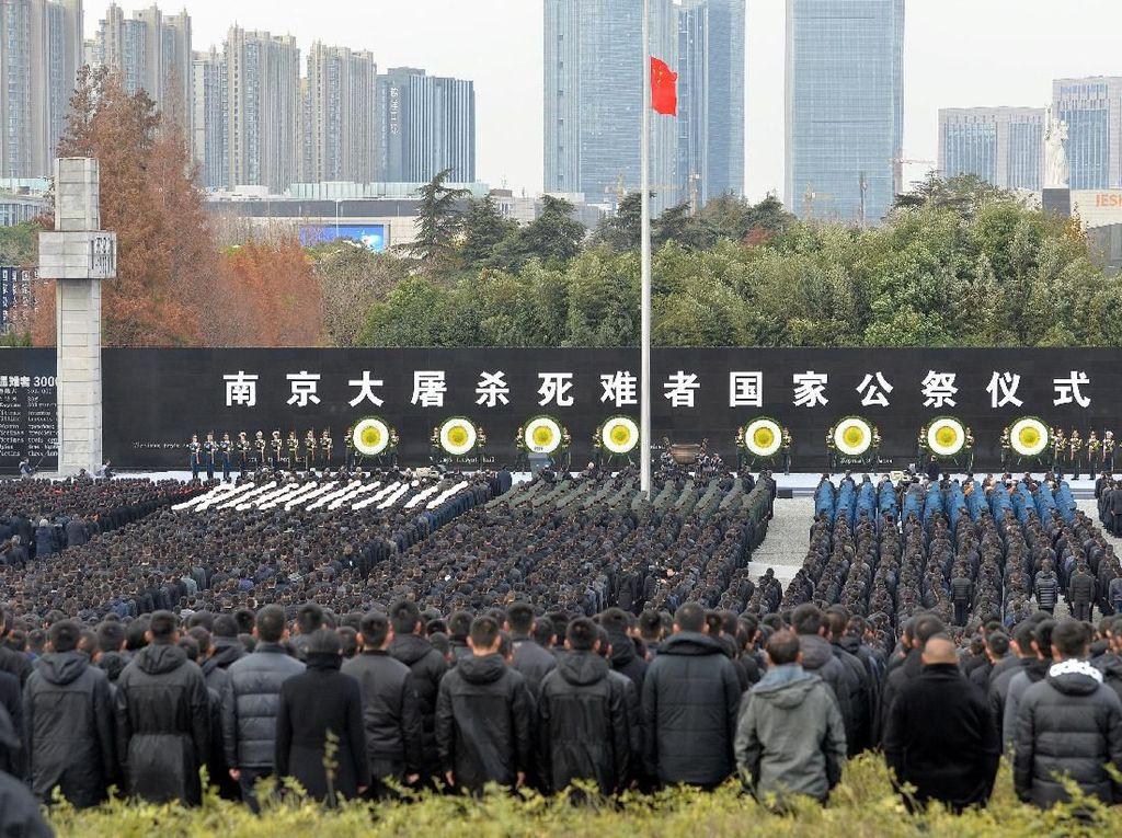 Presiden Xi Hadiri Peringatan Tragedi Nanjing