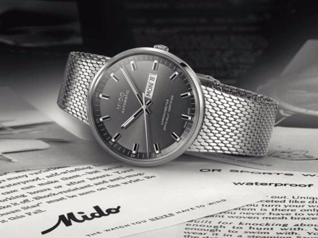Peluncuran Mido Commander Icone, Jam Tangan Neo Vintage yang Ikonik