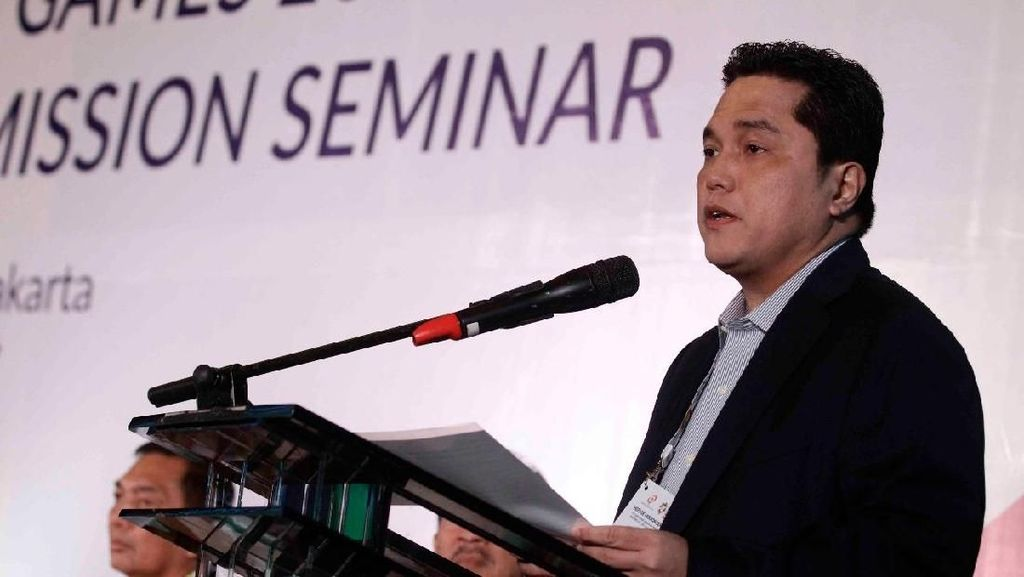 Muncul Kabar Honor Volunter Asian Games, Ini Respons Erick Thohir