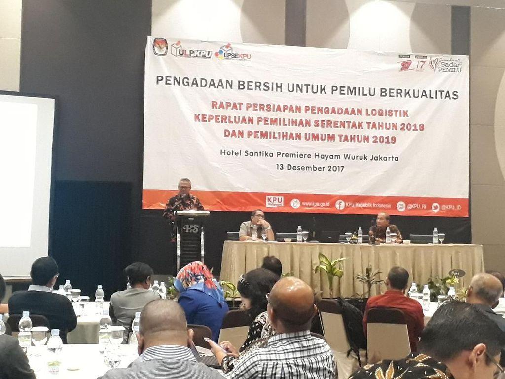 KPU Gunakan e-Catalog untuk Logistik Pemilu 2019