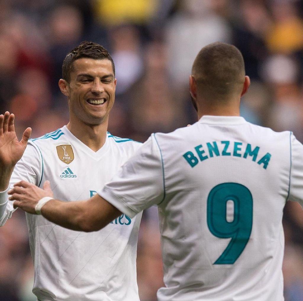 Statistik Apik Ronaldo dan Benzema di Piala Dunia Antarklub