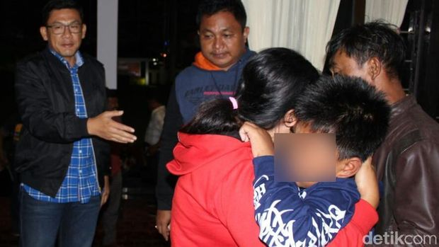Korban penculikan bertemu ibunya/