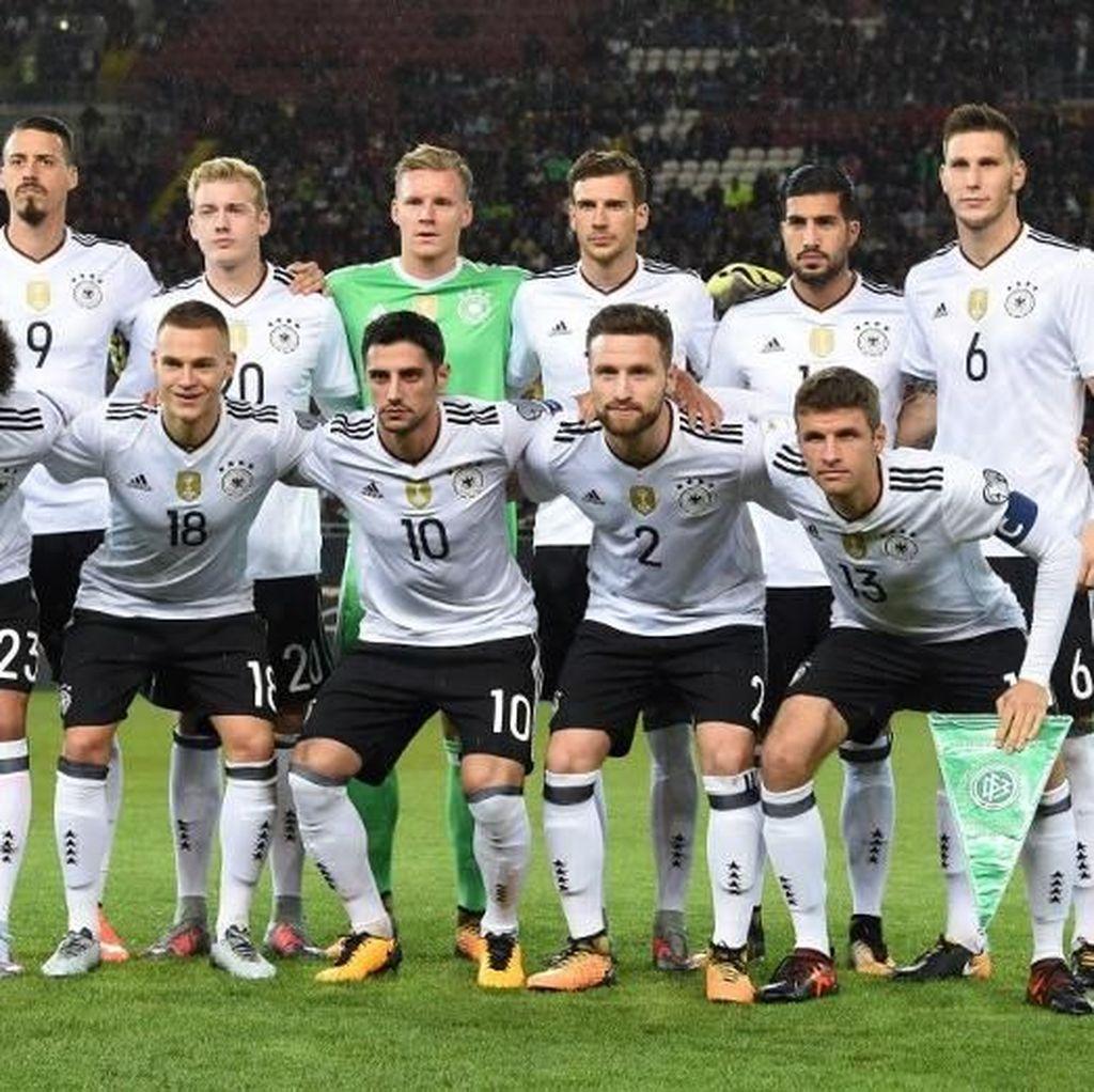 Iming-Iming Bonus Rp 5,5 M untuk Pemain-Pemain Timnas Jerman