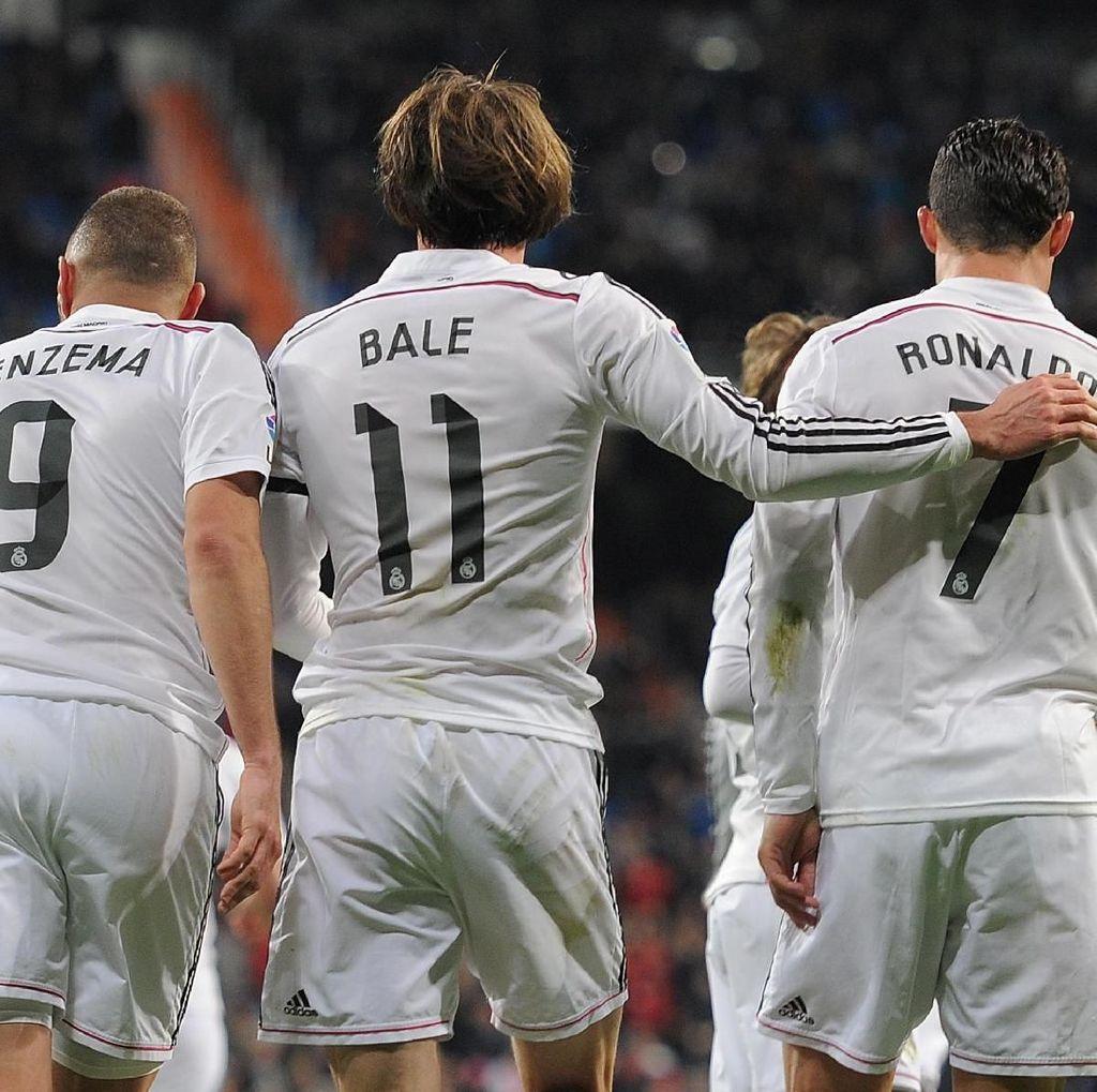 Menanti Trio BBC Saat Madrid Hadapi Deportivo