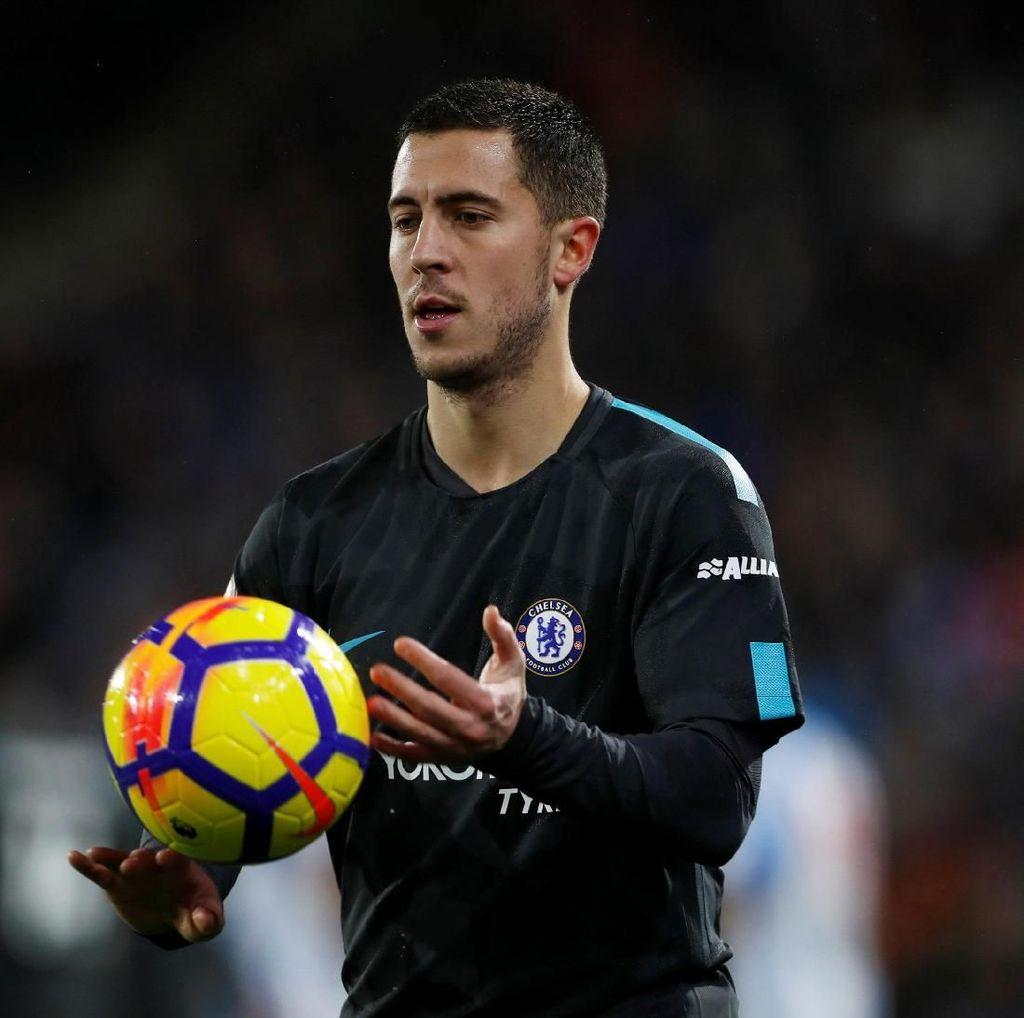 Chelsea Disebut Kelelahan, Hazard: Bisa Istirahat di Akhir Musim