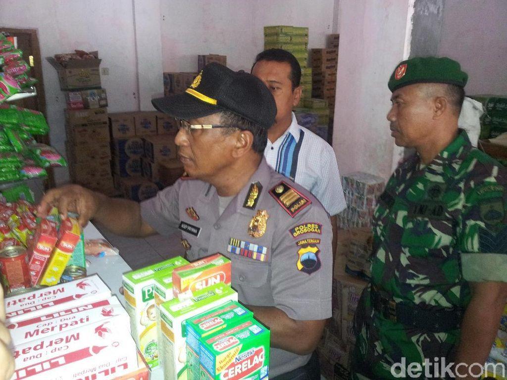 Makanan Kedaluwarsa Ditemukan di Minimarket dan Swalayan di Grobogan