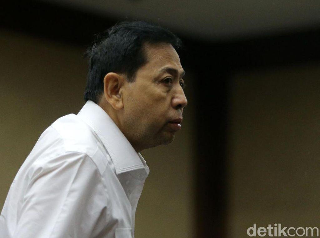 Tok! Hakim Gugurkan Praperadilan Setya Novanto
