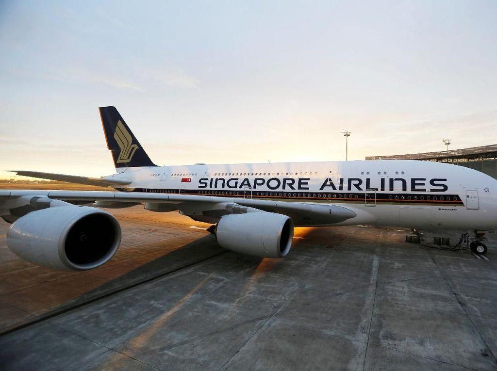 Laris! Maksi Mewah di Airbus A380 Singapore Airlines Tanpa Terbang