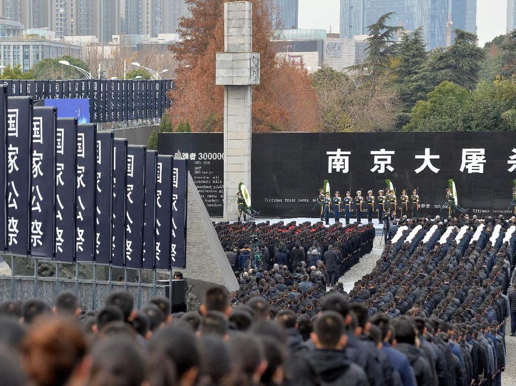 Pembantaian Mengerikan Nanjing Diperingati, Begini Suasananya